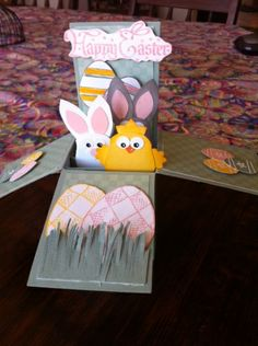 Easter Bunnies Card in a Box