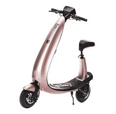 OjO Commuter Scooter for Adults - Eco-friendly, Electric & Smart - Rose Gold Best Electric Scooter, Electric Bicycle, Cheap Scooters, Hiking Gear, Camping Gear, E Scooter, Custom Clothes, Riding Helmets, Eco Friendly