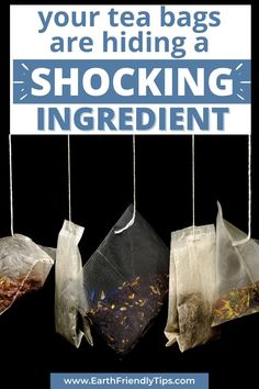 You think your tea bags only contain tea and paper, right? Well, think again. Your tea bags might actually contain a shocking ingredient that could be making you sick. What is that hidden ingredient? Plastic. Discover which tea bags contain plastic and what you can do to avoid plastic in your tea bags. eco-friendly zero waste sustainable plastic free plastic in tea bags Pukka Herbs, Homemade Tea, Green Living Tips, Natural Lifestyle, Minimalist Lifestyle, Lifestyle Group, Loose Leaf Tea, Sustainable Living, Drinking Tea