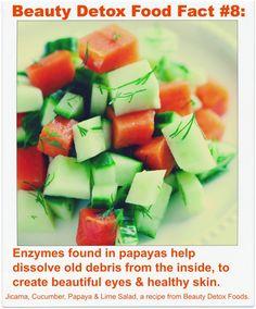 Beauty Detox Food Fact #8