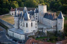 Photo aérienne de : La Rochefoucauld - Charente (16) Le château