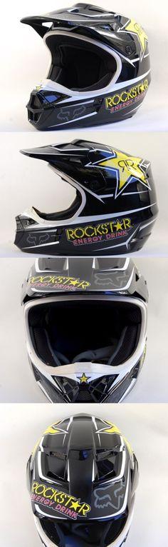 Helmet Accessories 177865: Fox Racing Dot Bmx Rockstars Mens Motocross Snell Helmet Size Medium 7 1 8-7 1 4 -> BUY IT NOW ONLY: $131.99 on eBay!