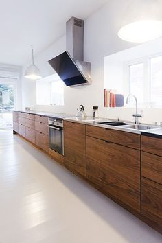 linear kitchen designs - Google Search