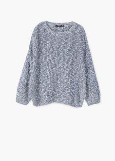 Bavlněný svetr oversize | MANGO