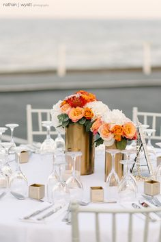 A stunning private beachside reception venue offering privacy and elegance and with no noise restrictions the possibility of dancing until the early hours!