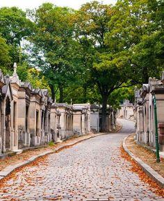 the Père-Lachaise cemetery