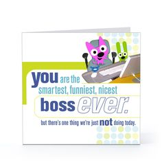 graphic about Free Printable Funny Boss Day Cards identified as 11 Ideal Manager Working day 2016 visuals Content bosss working day, Manager working day