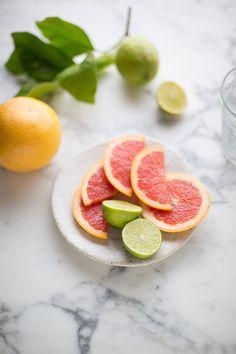 A frozen paloma cocktail