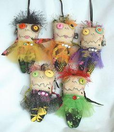 Mini Monster Voodoo Doll
