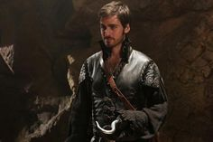 Colin O'Donoghue as Captain Hook in Once Upon a Time. My new favorite character.