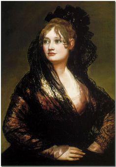 Goya Francisco Goya, Spanish Painters, Spanish Artists, Goya Portraits, Oil Portrait, Woman Portrait, Goya Paintings, Watercolor Paintings, National Gallery