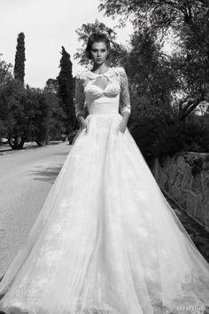 Inbal Dror 2013 Wedding Dresses | Wedding Inspirasi -- love the little jacket