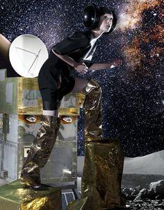 Fly me to the moon by Benjamin Kanarek (HARPER'S BAZAAR CHINA)