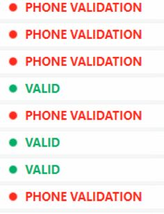 Mass Phone Validation @redoxate  wrote:                             Hello,  I have been using highproxies for like 6 mounths, and only get some phone ve ..