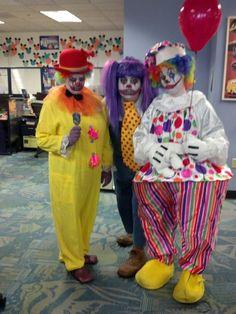 Scary clowns!