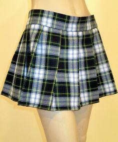 cec48fa8c7d Dress Gordon Mini Skirt Pleated Plaid 12