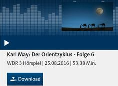 """Gratis: Hörspiel """"Der Orientzyklus"""" von Karl May zum kostenlosen Download https://www.discountfan.de/artikel/c_gratis-angebot/gratis-hoerspiel-der-orientzyklus-von-karl-may-zum-kostenlosen-download.php Nicht der Wilde Westen beim WDR, sondern der Osten: Das Hörspiel """"Der Orientzyklus"""" steht zum kostenlosen und legalen Download bereit – derzeit sind sechs von zwölf Folgen mit jeweils rund einer Stunde Spielzeit verfügbar. Gratis: Hörspiel """"Der Or"""
