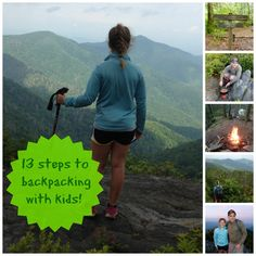 Backpacking with kids: 13 Steps to follow
