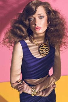 "Tanya Katysheva by Pablo Estévez & Javier Belloso in ""Shades of Summer"" for Fashion Gone Rogue"