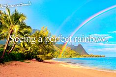 See a double rainbow in Hawaii The Places Youll Go, Places To See, Kona Hawaii, Dont Forget To Smile, Don't Forget, Before I Die, Reasons To Smile, Favim, Big Island