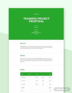 Instantly Download Training Project Proposal Template, Sample & Example in Microsoft Word (DOC) Format. Available in US Letter Sizes. Quickly Customize. Easily Editable & Printable. Project Proposal Template, Proposal Templates, Proposal Format, Makeup Training, Google Docs, Apple Mac, Word Doc, Microsoft Word, Letter Size