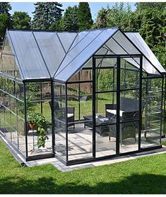 Garden Chalet Greenhouse by Palram, , large