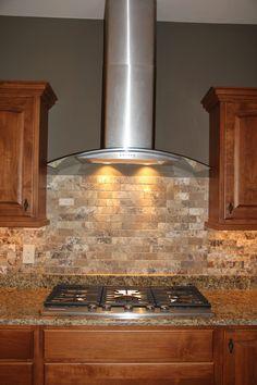 32 Unique Kitchen Vent Hood Ideas You Can Pick, Uncommon Kitchen Vent Hood Ideas Ideas 22 Kitchen Vent Hood, Kitchen Exhaust, Kitchen Stove, Kitchen Paint, Kitchen Backsplash, Diy Kitchen, Backsplash Ideas, Kitchen Ideas, Kitchen Countertops