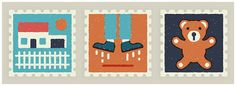 Everyday Stamps on Behance