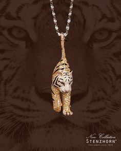 Express it with your body - impress it on your soul — Our new collection by STENZHORN ☮ * ° ♥ ˚ℒℴѵℯ cjf Cat Jewelry, Animal Jewelry, High Jewelry, Luxury Jewelry, Pendant Jewelry, Silver Jewelry, Jewelry Design, Unique Jewelry, Handmade Jewelry
