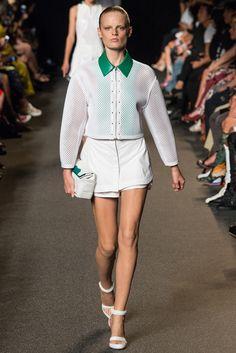Alexander Wang Spring 2015 Ready-to-Wear Fashion Show - Vanessa Moody