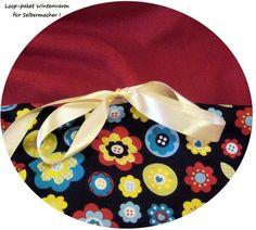 Stoffpakete - Stoffpaket♥Loop♥DIY Blumen RK Winter +Schleife - ein Designerstück von kreawusel-aufgehuebscht bei DaWanda