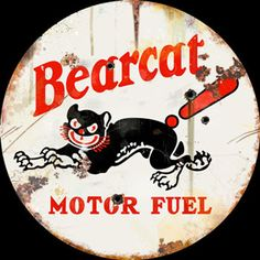 Click to find out more about Bearcat Motor Fuel Vintage Sign