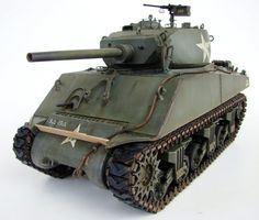 Building the M4A3E2 Sherman Jumbo - 1/16 scale