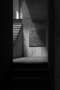 Visions of an Industrial Age: reminds me of the Luis Barragan house in Mexico City Shadow Architecture, Concrete Architecture, Light Architecture, Interior Architecture, Ibaraki, Minimalist Architecture, Light And Space, Light And Shadow, Belle Photo