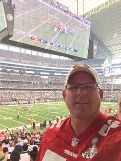 Glad to be a part of the sea of red that invaded Cowboys game