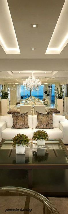 High Rise Living Luxurious Decor