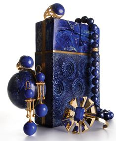 2 - Gold and Lapis Jewelry Gets Architectural