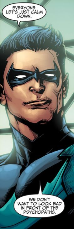 """Nightwing in a nutshell"""