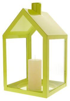 LIGHT HOUSE - Windlicht - lime