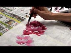 Peony, Rose, Orchid, and Flowers Chinese painting by Cui Qingguo 02 - YouTube