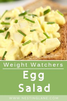Weight Watchers Egg Salad Recipe. A quick and easy lunch or dinner that's ready in 20 minutes. Mayonnaise, dijon mustard, and dill. Low carb. MyWW Points: 3 Green Plan, 3 Smart Points. Weight Watchers Vegetarian, Weight Watchers Salad, Weight Watcher Dinners, Ww Recipes, Salad Recipes, Healthy Recipes, Weightwatchers Recipes, Egg Salad, Everyday Food