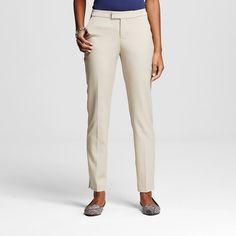 Women's Bi-Stretch Twill Skinny Classic Vintage Khaki 2 - Merona