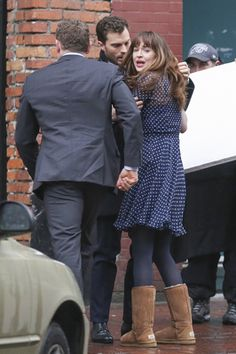 Christian, Ana & Taylor after Ana was attacked by Jack