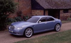 OG | Rover 55 | Based on Honda Civic, this prototype should replace Rover 45. BMW dropped this project.