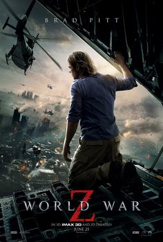 World War Z - good film, great acting, great action, on the edge of ur seat. Not a particularly new story told, but well worth a watch!