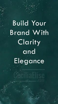Video: Build your brand with clarity and elegance CeciliaElise.com #socialmedia #VideoMarketing #Entrepreneurship #entrepreneurlife #entrepreneurlifestyle #MarketingStrategy #bossbabe #femaleentrepreneur #girbosslife #gamechanger #entrepreneurlife #hustlelife #workhard #laptoplifestyle #millionairemindset #hersuccess #femalesntrepreneurs #successtips #personalsevlopment #businesscosch #onlinevideo #shemeansbusiness
