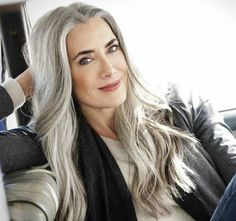 Long Grey Hairstyles Fascinating Long Grey Hairstyles  Long Hairstyle For Grey Hair  Hair