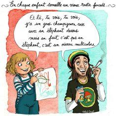 #humour #illustration #illustratrice #enfant #rasta