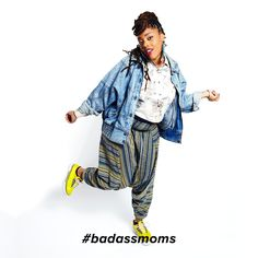 Rocking the mic since eighth grade, you need to meet poet, mentor, and stylish mama Jazz Hudson NOW. #badassmoms