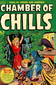 CHAMBER OF CHILLS 21, GOLDEN AGE HARVEY COMICS